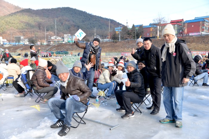 Go fishing and winter travel experience in Korea