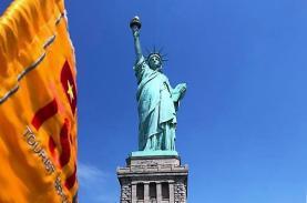 Ý nghĩa ngọn đuốc trên tay tượng Nữ thần Tự do ở Mỹ