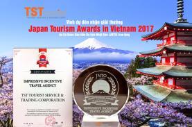 TST Tourist gains Japan Tourism Award 2017