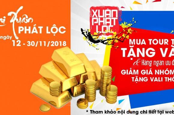 TST tourist khai Xuân Phát Lộc 2019