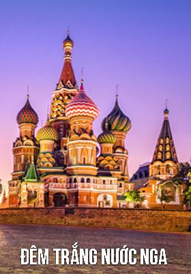 Dem trang nuoc Nga